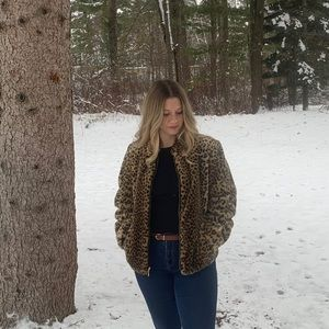 One of Kind Leopard Coat by DonnyBrook!